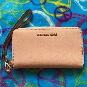 Michael Kors wristlet/phone wallet.